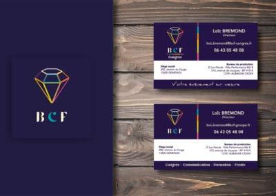 Création d'une carte de visite pour une TPE
